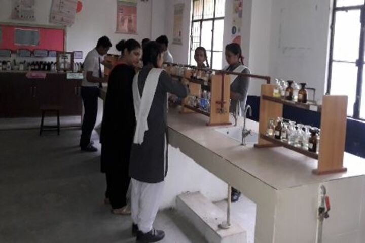 Sainik Public School- Chemistry lab