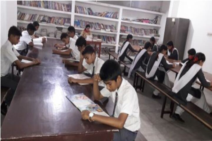 Sainik Public School- Library