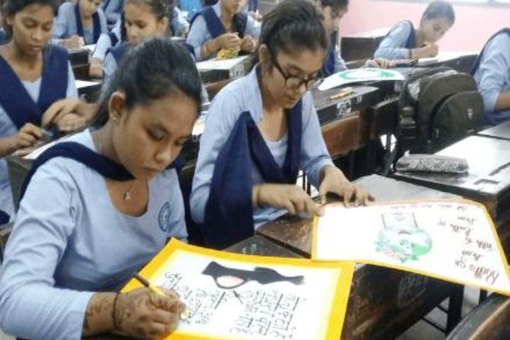 Government Girls Senior Secondary School-Painting