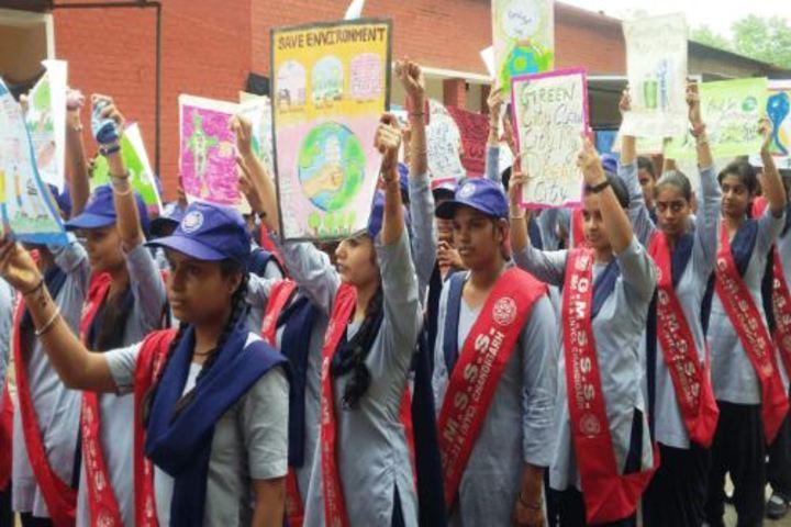 Government Girls Senior Secondary School-Rally