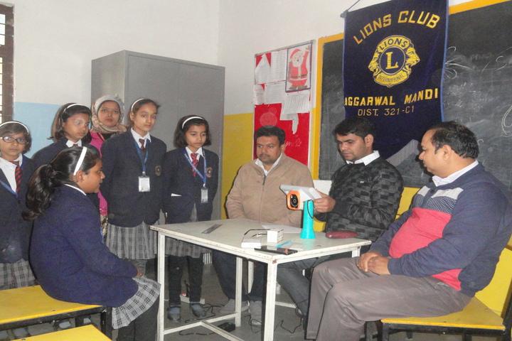 Saint Angels Public School-Health checkup