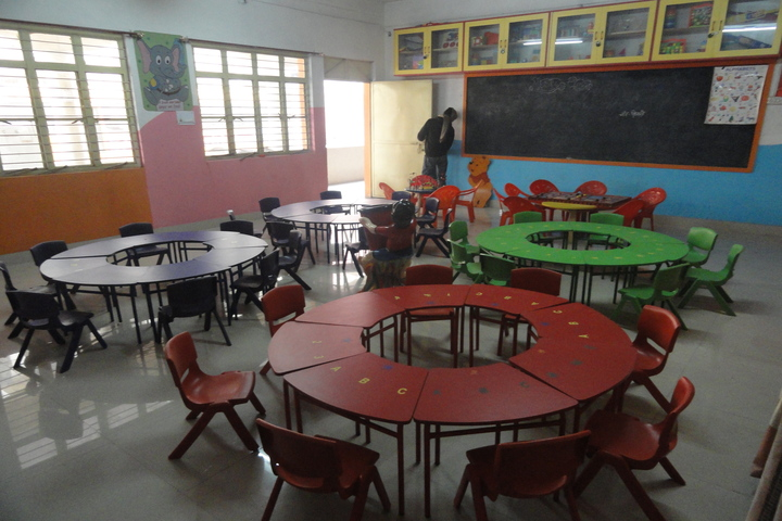 Saint Angels Public School-Kinderaten class