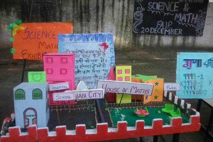 Govt High School-Science And Maths Exhibition