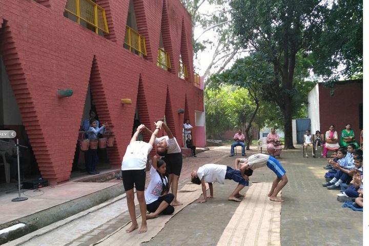Govt High School-Yoga Day