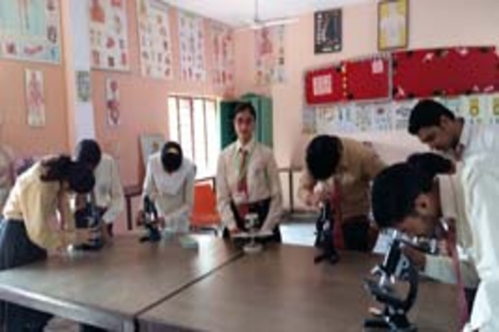 Sanskar Bharti Convent School-Biology lab