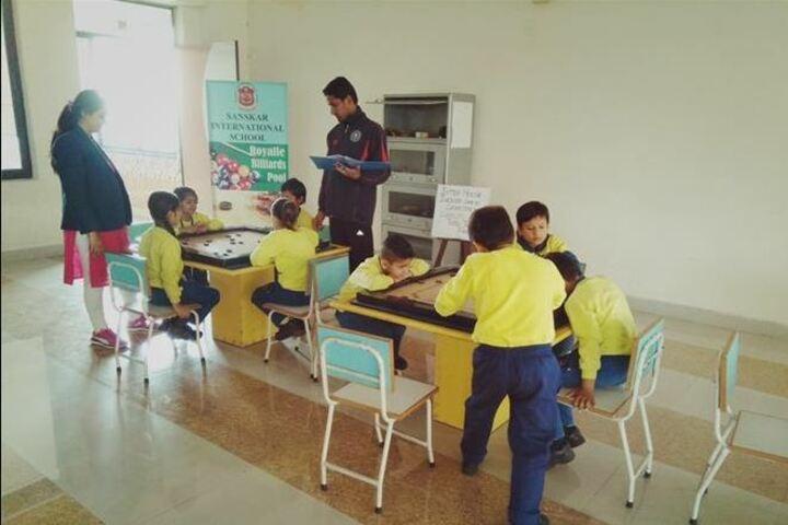 Sanskar International School- Indoor games