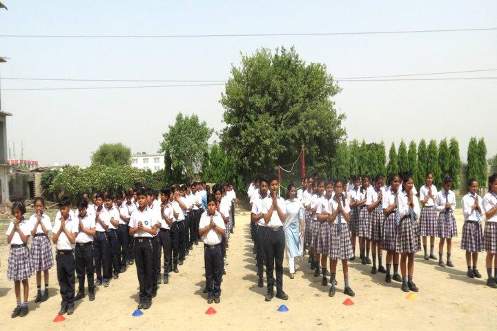 Sanskar World School- Assembly