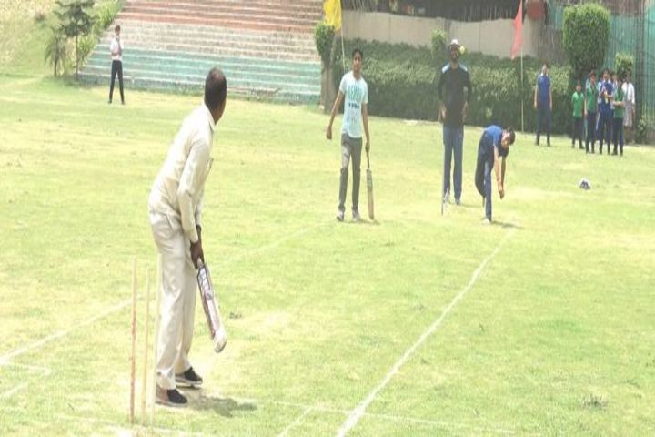 Sanskar World School- Cricket ground