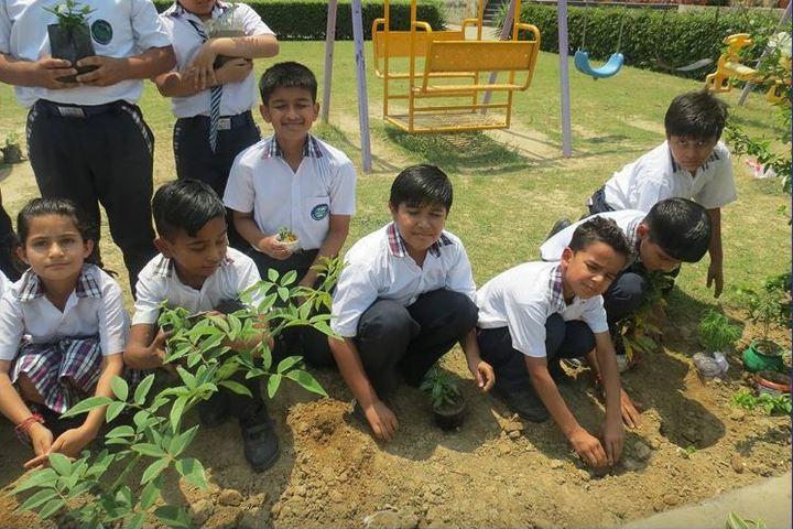 Sanskar World School-Earth day