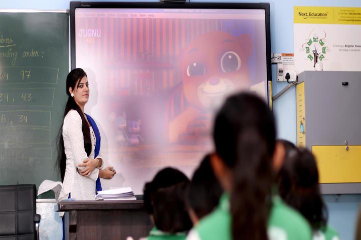 Sanskriti Sanskar Public School- Digital class