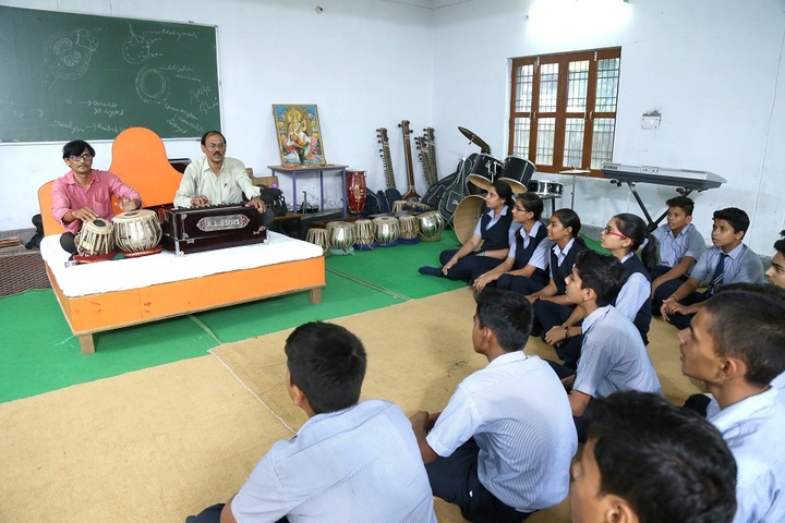 Sant Atulanand Residential Academy- Music Room