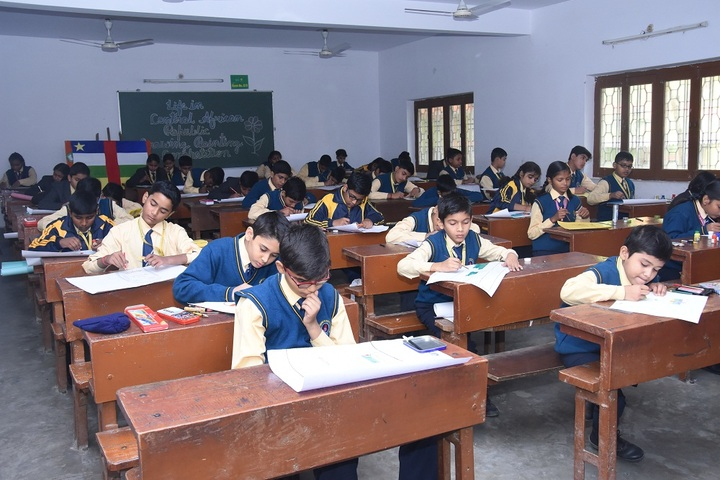 Sant Atulanand Residential Academy- Painting