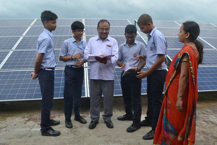 Sant Atulanand Residential Academy- Solar Pannel