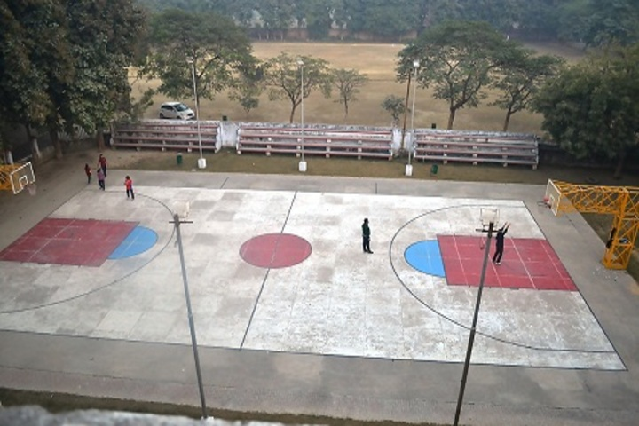 Sant Atulanand Residential Academy-Basketball Court
