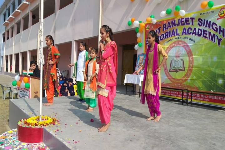 Sant Ranjeet Singh Memorial Academy- Republic day