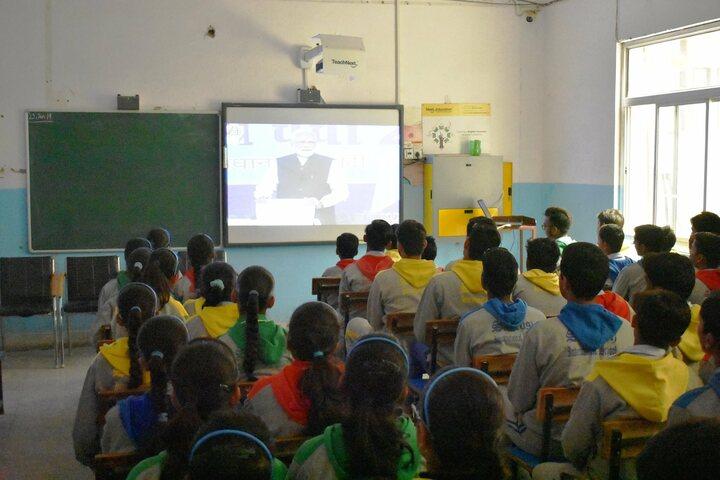 Santosh International School- Smart classes