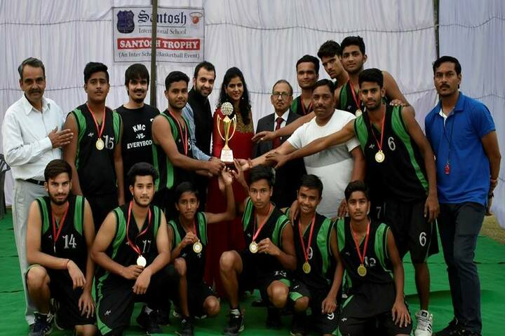 Santosh International School- Sports team