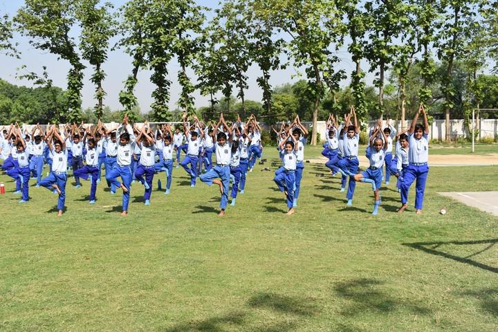 Santosh International School- Yoga