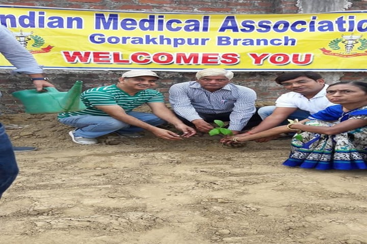 Saraswati Vidya Mandir Public School-Plantation Day