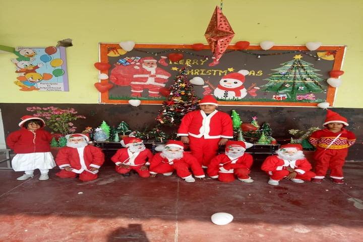 Sardar Patel Gurukul Academy-Christmas Celebrations