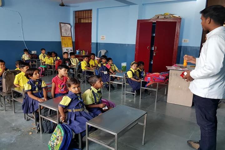 Sardar Patel Gurukul Academy-Classrooms