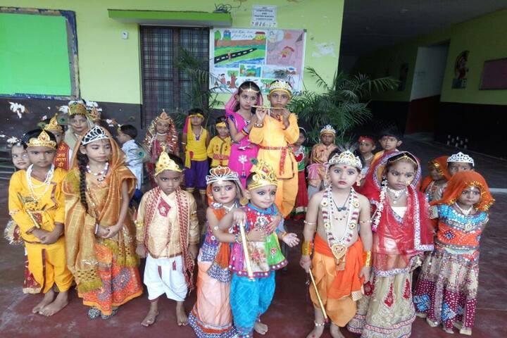 Sardar Patel Gurukul Academy-Janmastami Celebrations