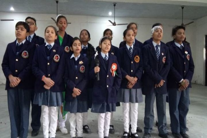 Sardar Patel School-Singing