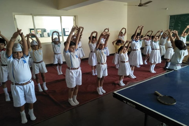 Sarv Sanskriti School-Yoga