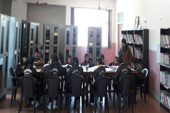 Sarv Sanskriti School-Library