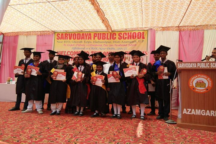 Sarvoday Pulic School-Graduation Day Celebrations