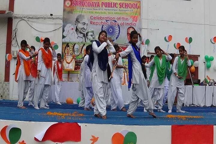 Sarvoday Pulic School-Republic Day
