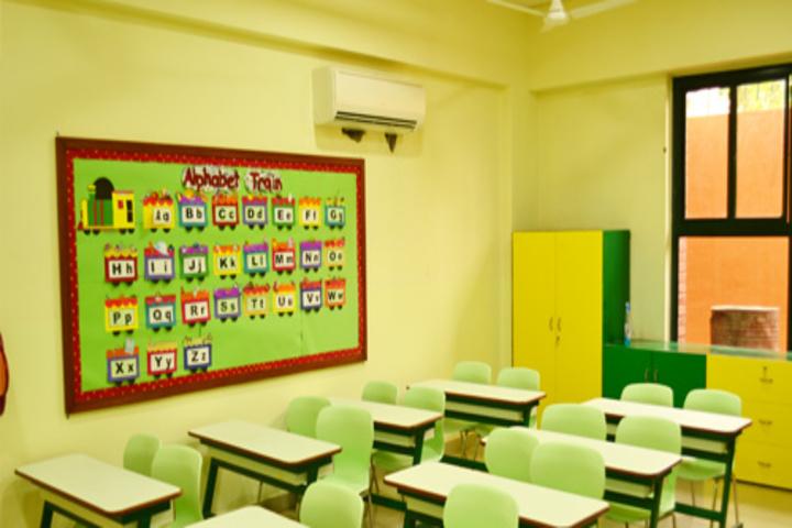 Sarvottam International School-Classrooms
