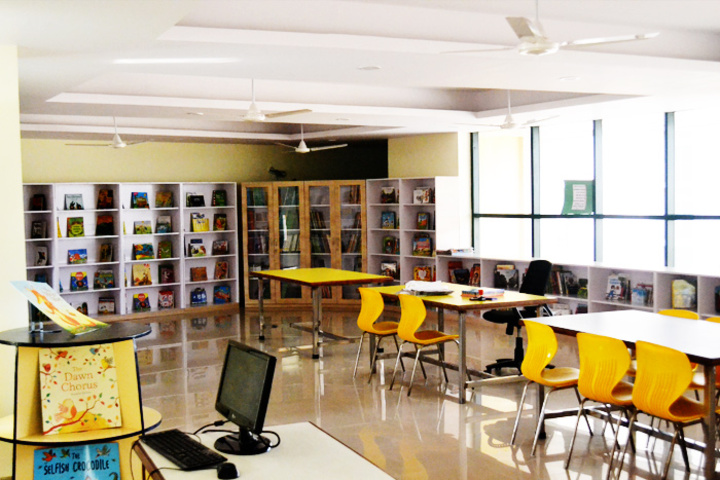 Sarvottam International School-Library