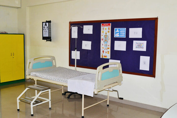 Sarvottam International School-Sick Room