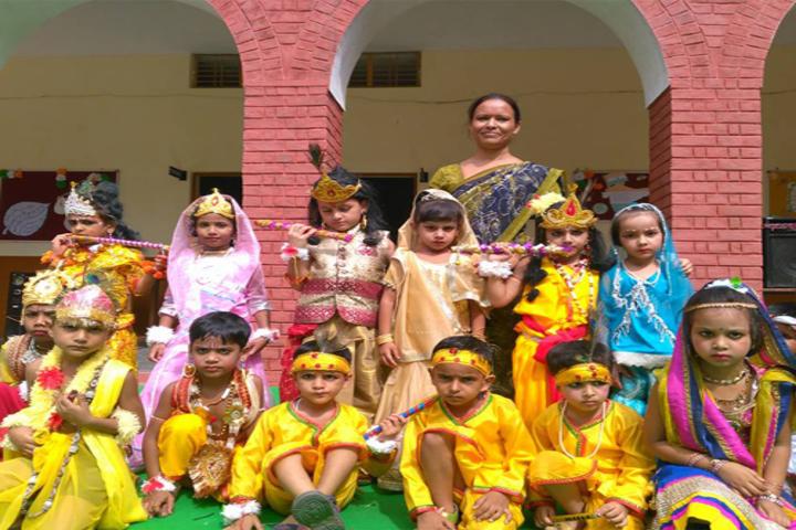 Satyawati Memorial Academy-Festival Celebrations