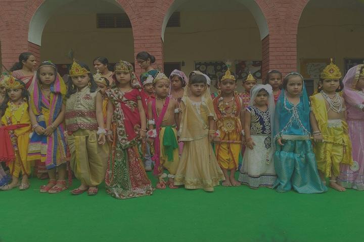 Satyawati Memorial Academy-Janmastami
