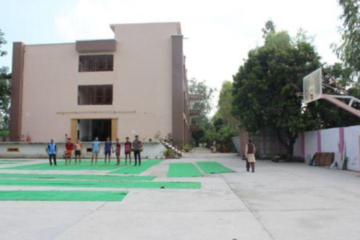 Satyawati Memorial Academy-Play Court