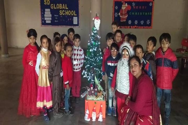 Sd Global School-Christmas Celebrations