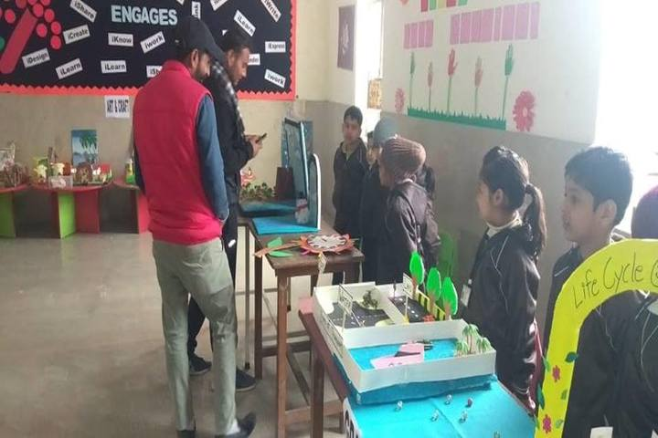 Sd Global School-Science Exhibition