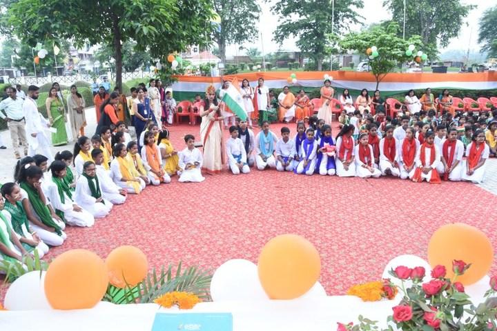 Seth M R Jaipuria School-Republic Day