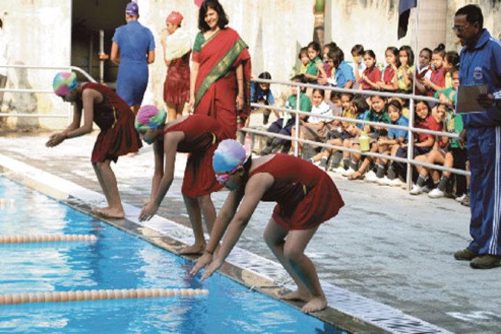 Seth M R Jaipuria School-Swimming Pool