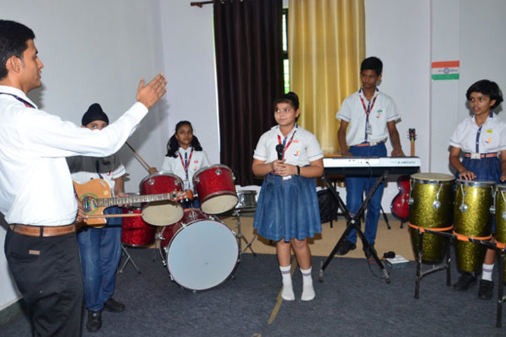 Seth M R Jaipuria School-Music Room