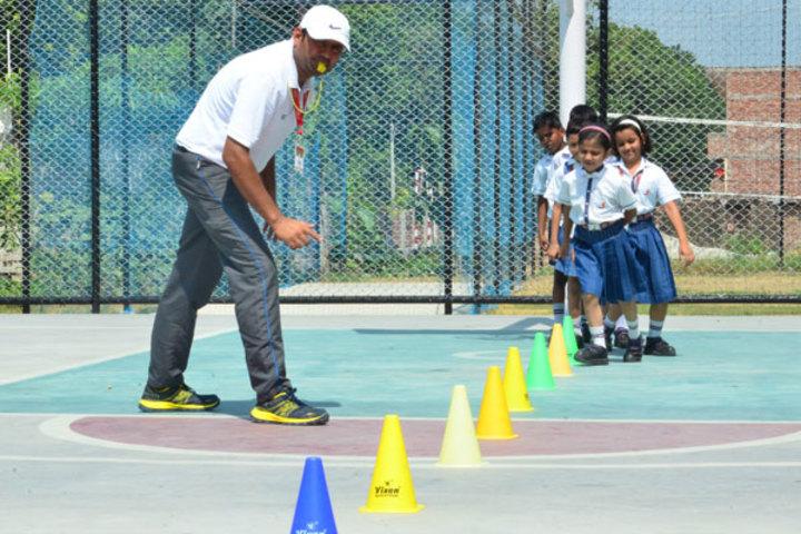 Seth M R Jaipuria School-Sports Day