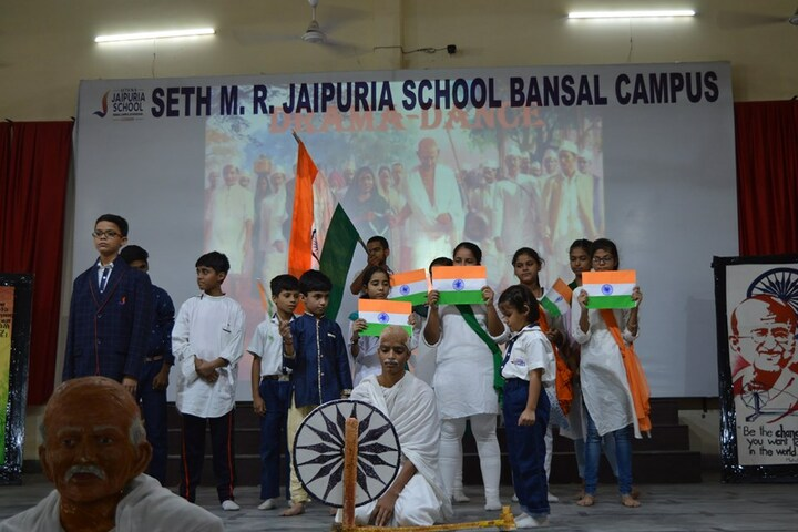 Seth M R Jaipuria School Bansal Campus-Independence Day