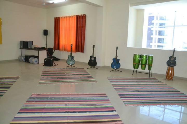 Seth M R Jaipuria School Bansal Campus-Music Room
