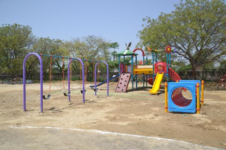 Seth M R Jaipuria School Bansal Campus-Play Area