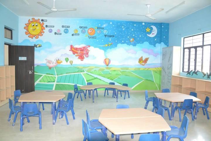 Seth M R Jaipuria School Bansal Campus-PrePrimary Classroom