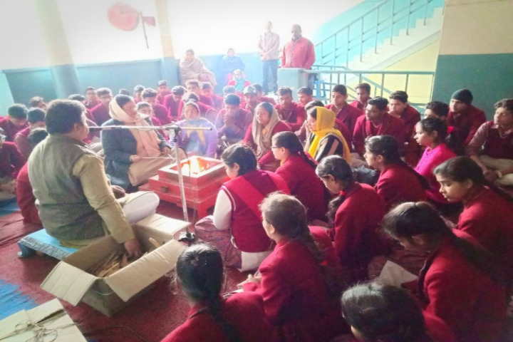S R D A V Public School-Blessing Ceremony