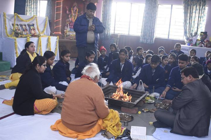 SGM International School-Basant Panchami