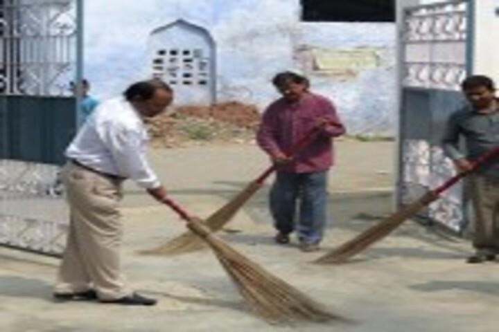 Shah Faiz Memorial Public School-Cleanliness Drive